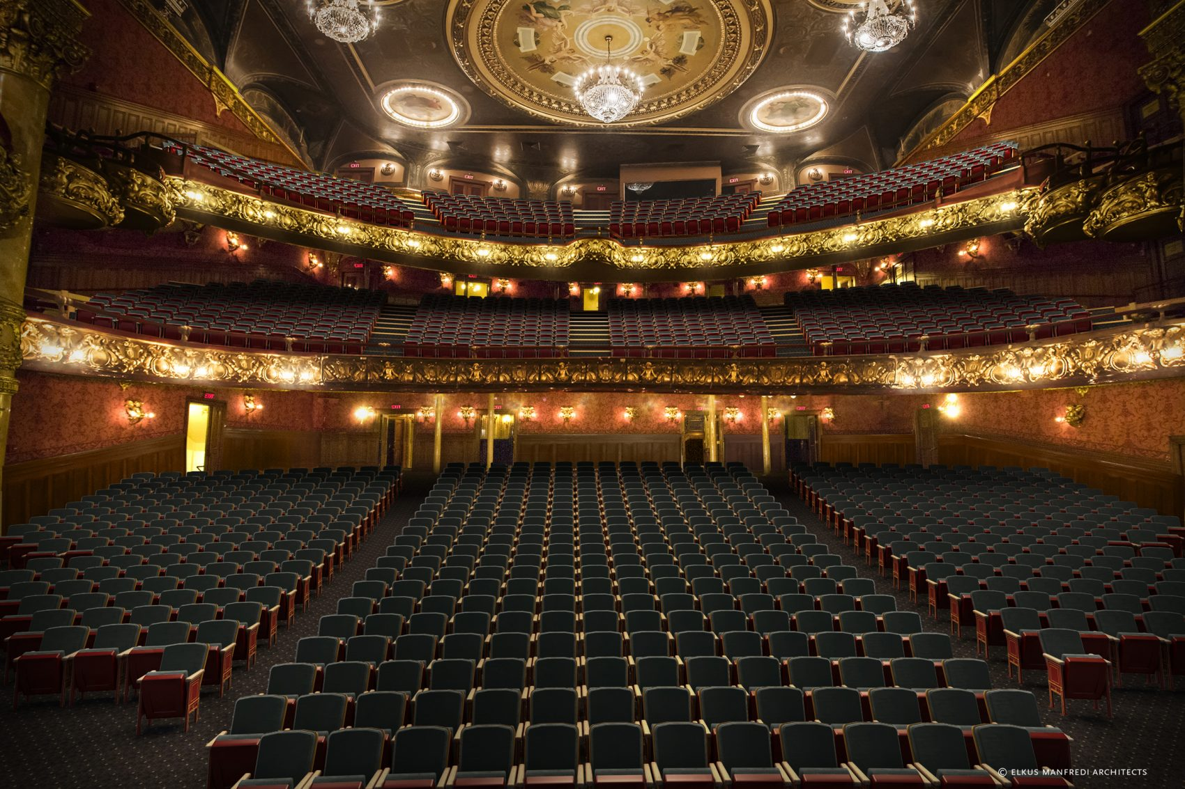 A rendering of what the Colonial Theatre will look like after renovations. (Courtesy Elkus Manfredi Architects)