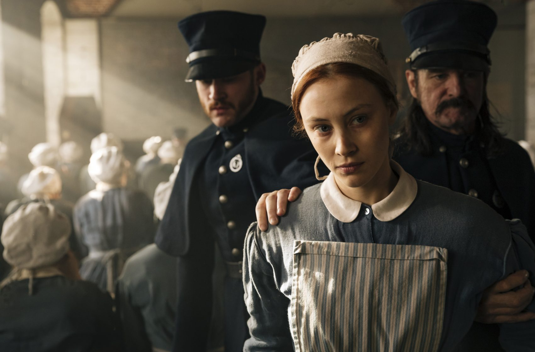 "Sarah Gadon as Grace Marks in Netflix's ""Alias Grace."" (Courtesy Jan Thijs /Netflix)"