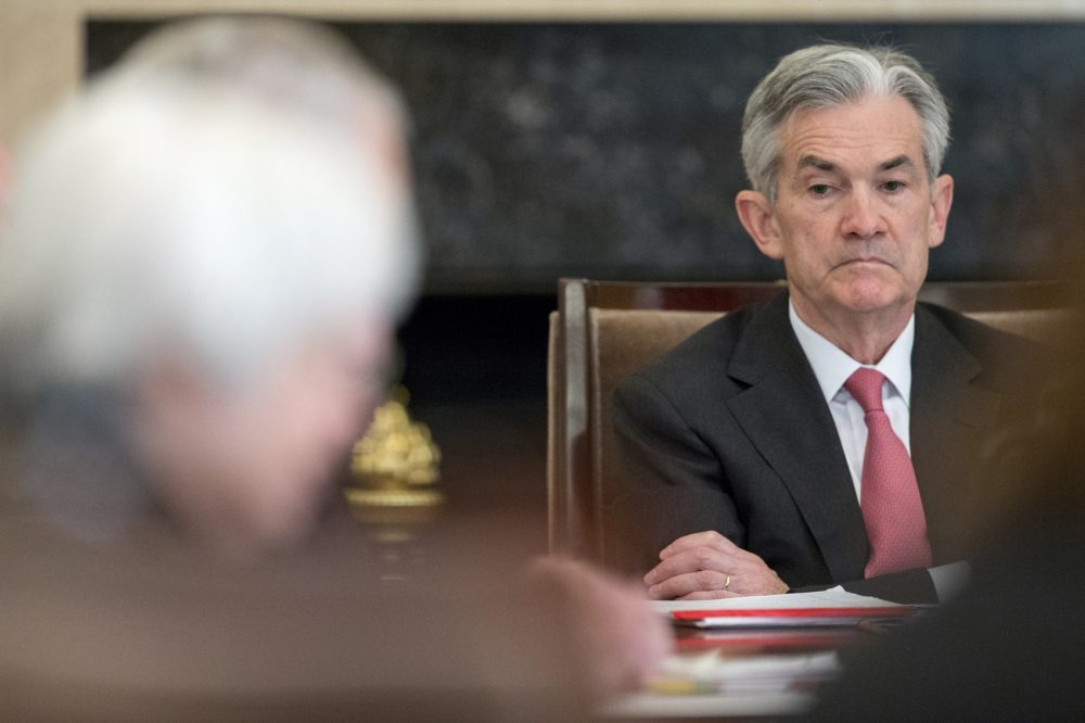 In this Monday, Nov. 30, 2015, file photo, Gov. Jerome Powell attends a Board of Governors meeting at the Marriner S. Eccles Federal Reserve Board Building in Washington. Two senior administration officials said Thursday, Nov. 2, 2017, that Powell is President Donald Trump's choice to succeed Janet Yellen.(Andrew Harnik/AP)