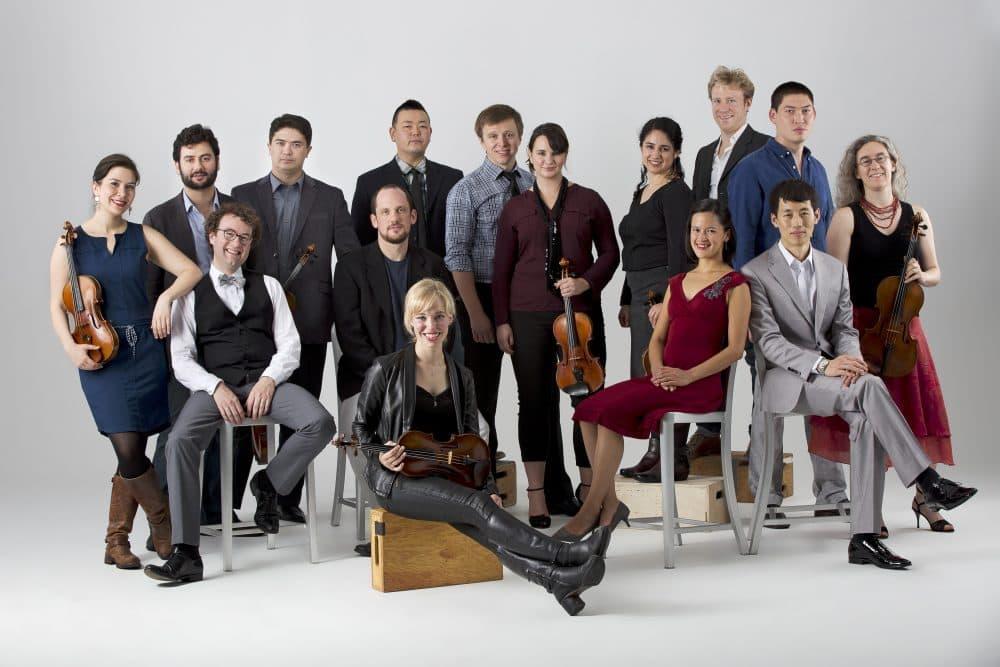 Boston string ensemble A Far Cry. (Courtesy Yoon S. Byun)