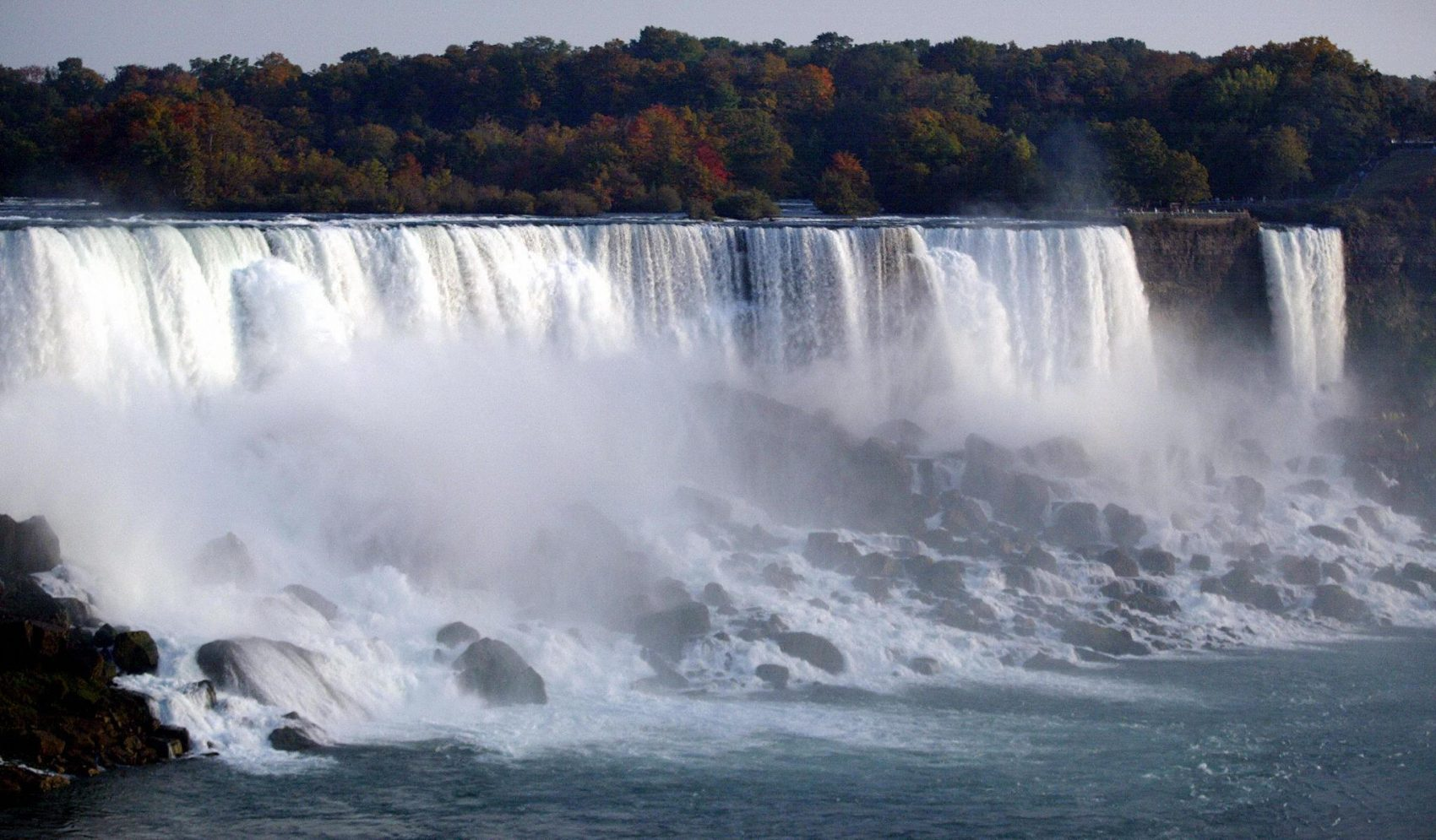 """""""The Age of Daredevils"""" includes the story of Red Hill Sr. and """"the first family of the Niagara Falls."""" (Don Emmert/AFP/Getty Images)"""
