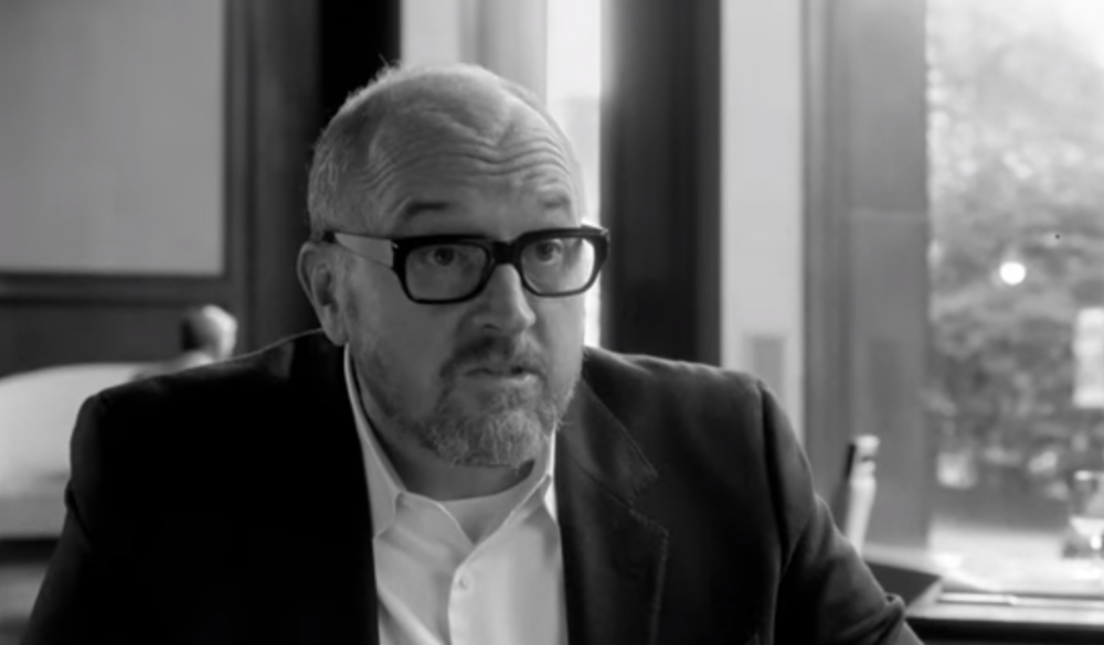 "Louis C.K. in ""I Love You, Daddy."" (YouTube)"