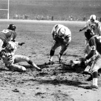 """Howard Peretz ranks """"The Greatest Game Ever Played,"""" between the Baltimore Colts and the New York Giants in 1958, at No. 4 among """"Greatest NFL Finishes."""" It was a sports """"miracle"""" he was there to witness. (AP Photo)"""