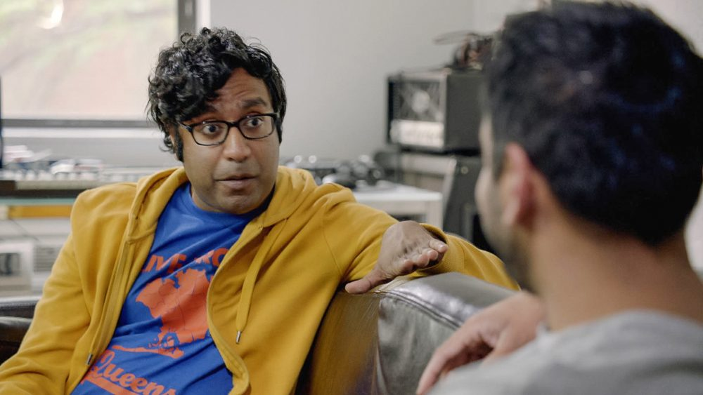"""This image released by truTV shows Hari Kondabolu, a comedian who stars in the documentary, """"The Problem with Apu,"""" airing on truTV on Nov. 19. (truTV via AP)"""