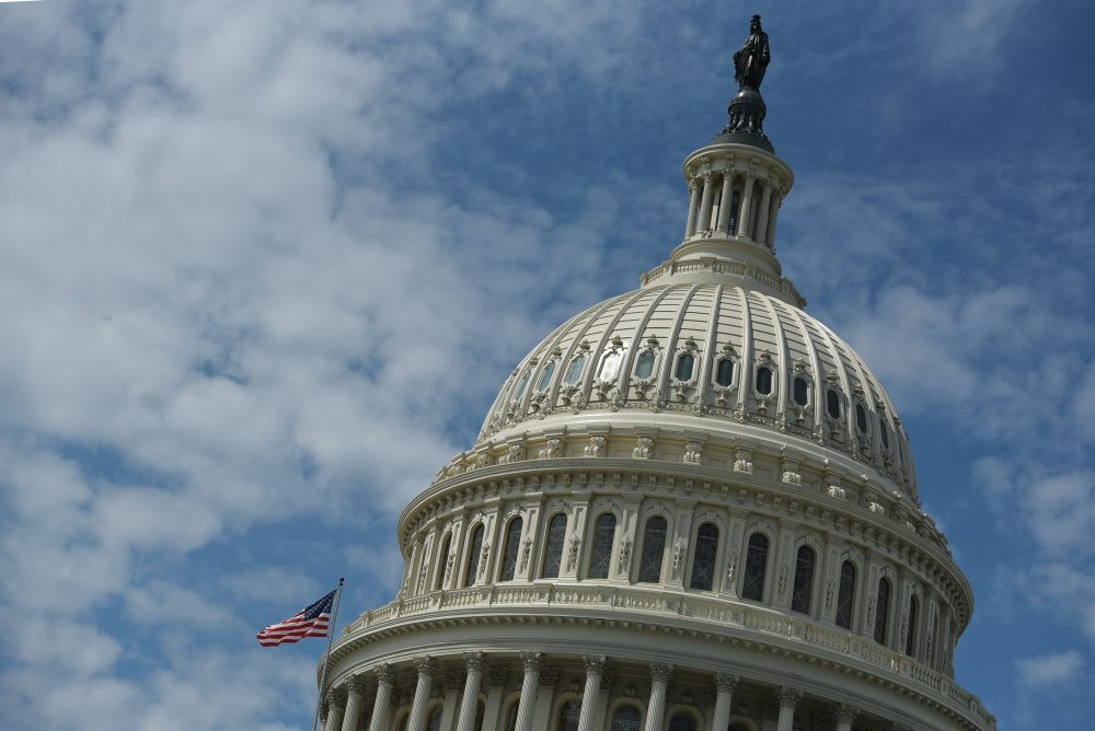 The dome of the U.S. Capitol in Washington, D.C. (Mandel Ngan/AFP/Getty Images)