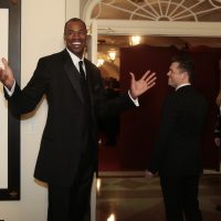 Jason Collins visits the White House (again) in February, 2014. (Andrew Harrer-Pool/Getty Images)