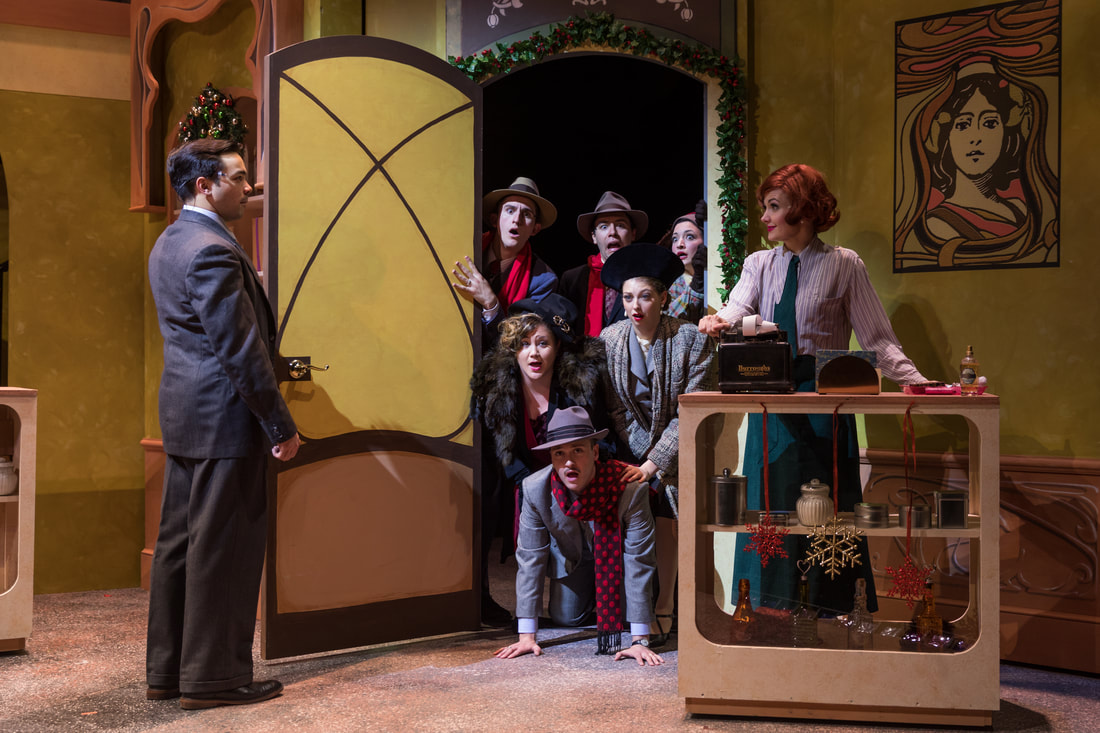 """The cast of Greater Boston Stage Company's """"She Loves Me."""" (Courtesy Maggie Hall Photography)"""