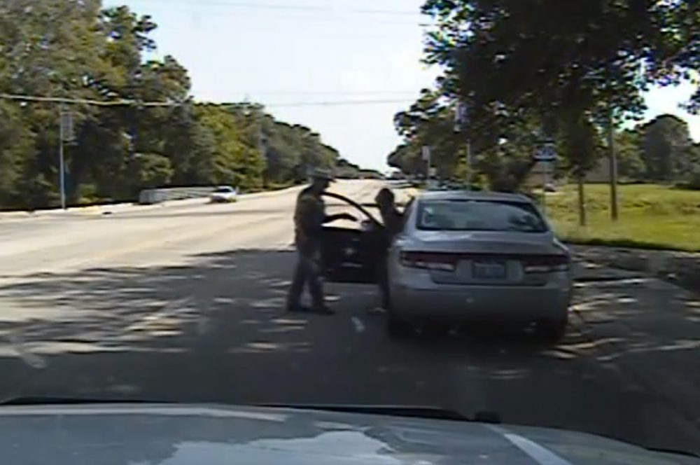Sandra Bland was pulled over for a minor traffic infraction, dragged out of her car and later died in jail. (Texas Department of Public Safety via AP)