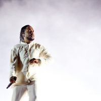 Kendrick Lamar performs at the Coachella music festival on April 23, 2017 in Indio, Calif. (Kevin Winter/Getty Images for Coachella)