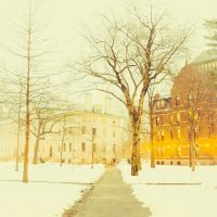 New England winter scene (Basheer Tome/Flickr)