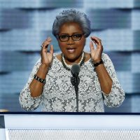 Democratic National Committee Vice Chair Donna Brazile speaks during the second day of the Democratic National Convention in Philadelphia , Tuesday, July 26, 2016. (J. Scott Applewhite/AP)