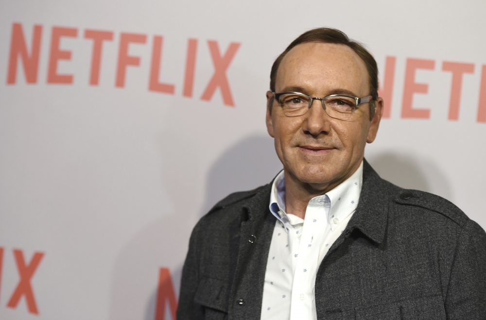Kevin Spacey in a 2015 file photo (Jordan Strauss/Invision/AP, File)
