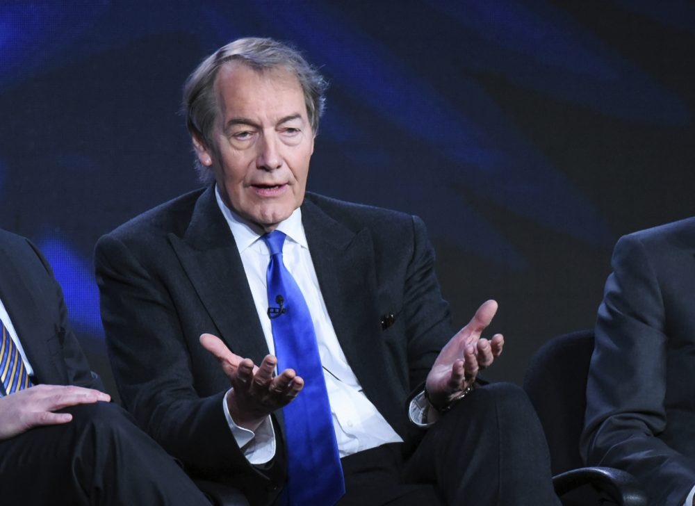 """In this Tuesday, Jan. 12, 2016, file photo, Charlie Rose participates in the """"CBS This Morning"""" panel in Pasadena, Calif. (Richard Shotwell/Invision/AP)"""
