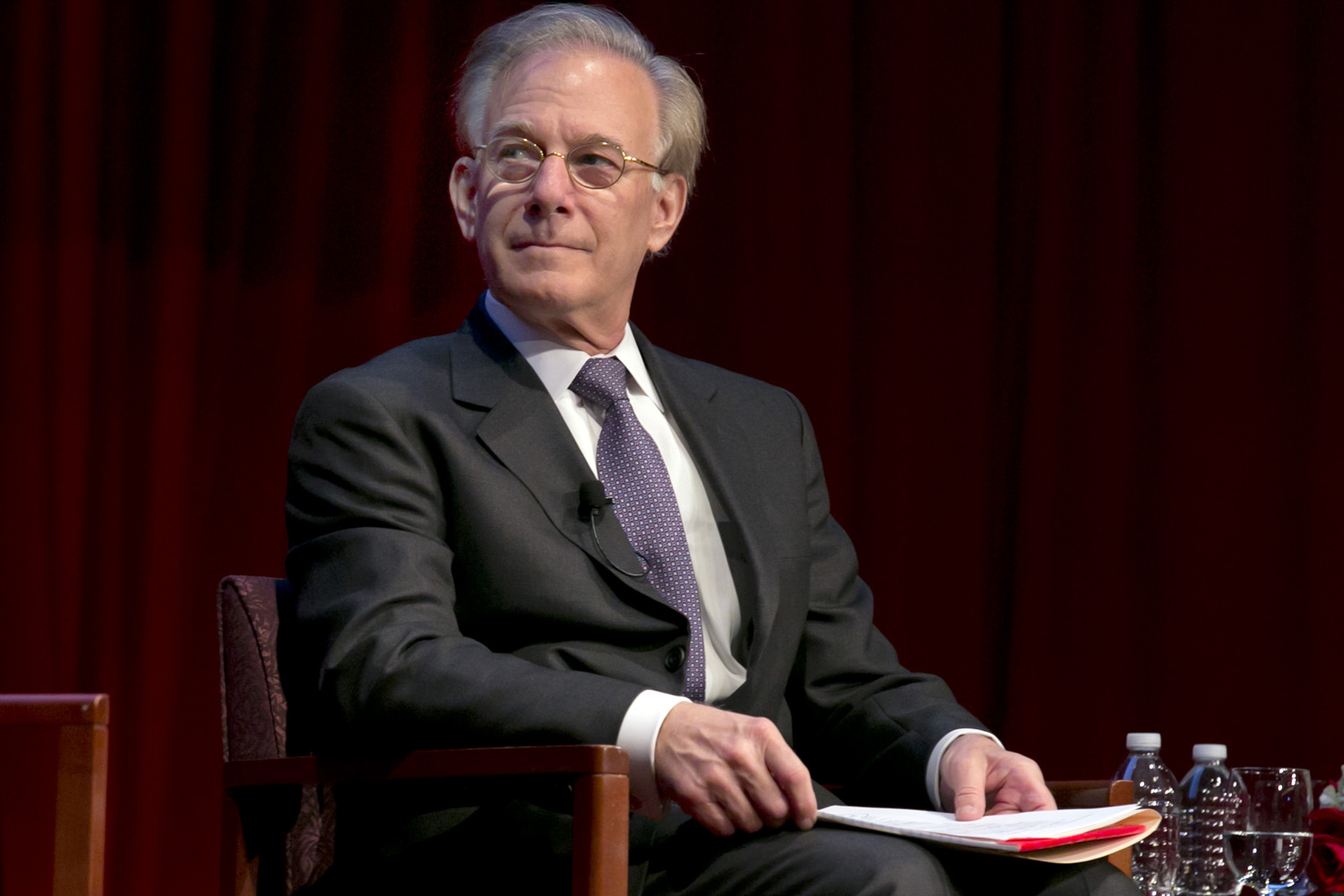 Washington Post columnist David Ignatius. (Richard Drew/AP)