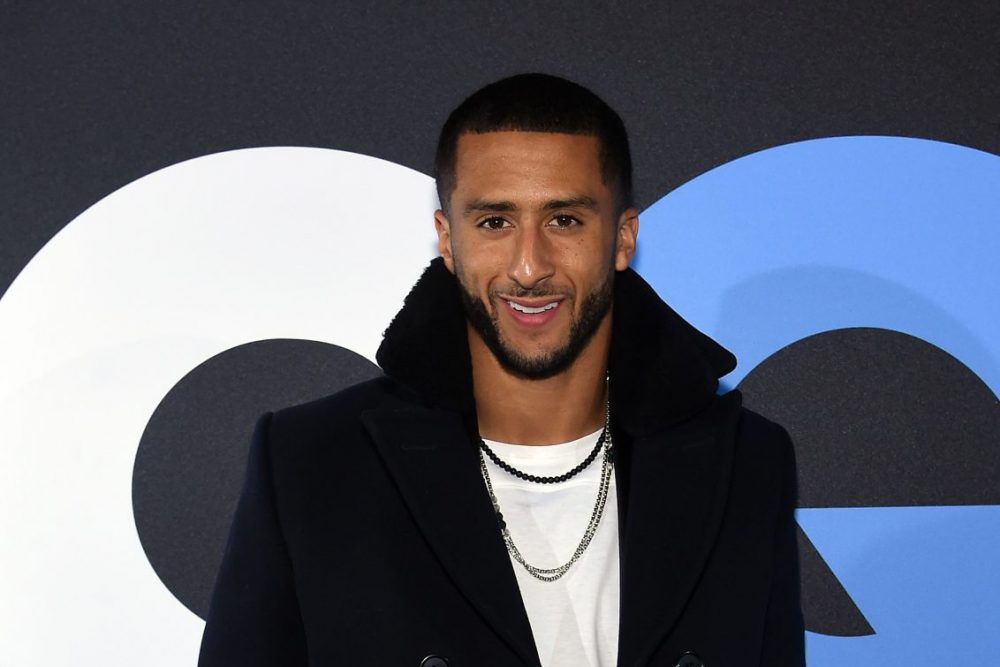 Colin Kaepernick was named GQ's Citizen of the Year. But NFL teams still aren't picking him up. (Jamie McCarthy/Getty Images for GQ)