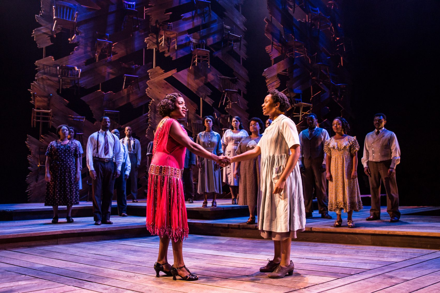 Even In Its Rush The Color Purple Is A Rousing And Empowering