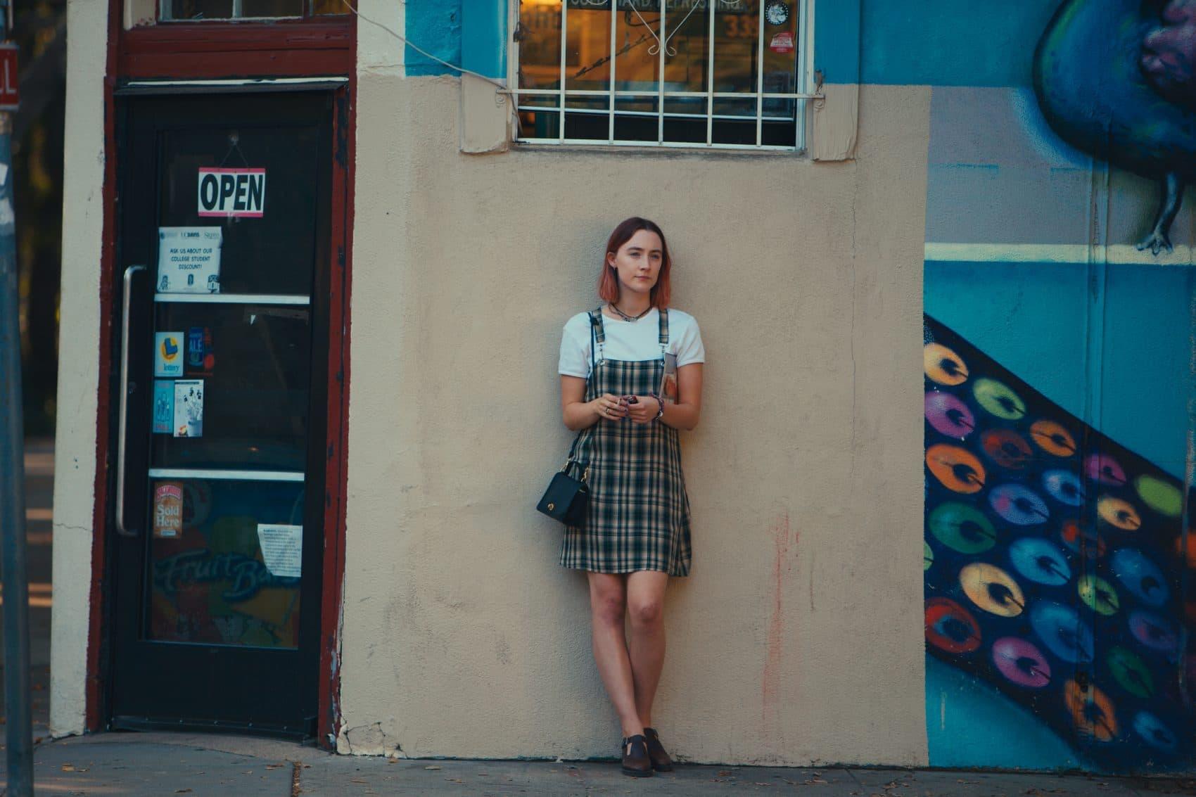 """Saoirse Ronan in """"Lady Bird."""" (Courtesy Merie Wallace/A24)"""