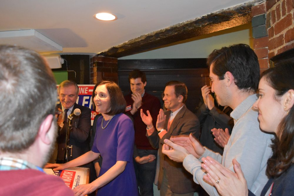 Ruthanne Fuller won a tight race to become the first woman elected Mayor in Newton. (Courtesy Amaury Dujardin)