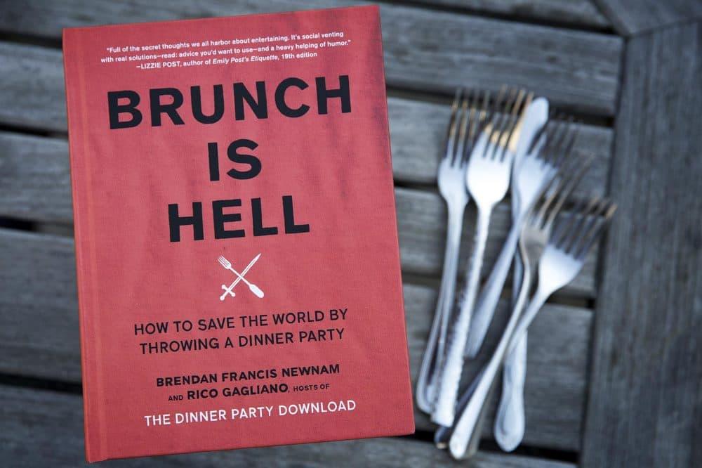 """Brunch Is Hell,"" by Rico Gagliano and Brendan Francis Newnam. (Robin Lubbock/WBUR)"