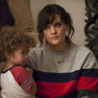 """Frankie Shaw as Bridgette Bird, Alexandra and Anna Reimer as Larry in a still from the Showtime series """"SMILF."""" (Courtesy Lacey Terrell/Showtime)"""