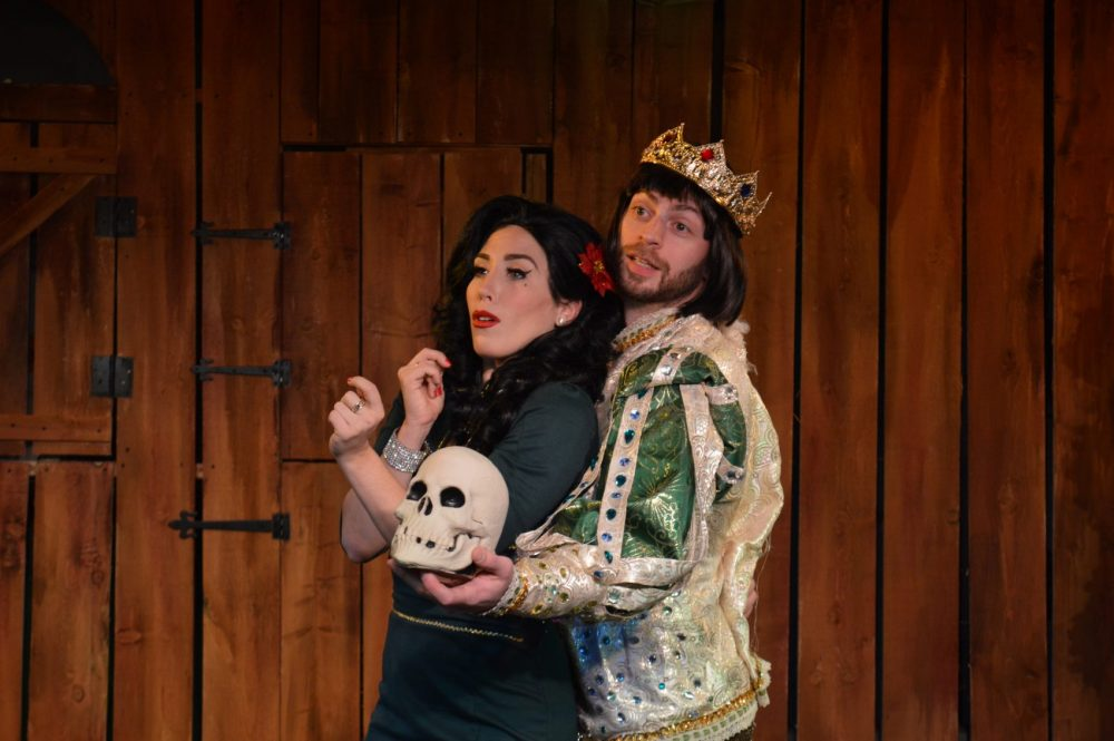 "Vanessa Calantropo and Jack Ferdman in ""Whatever Happened To Baby Jesus?"" (Courtesy Michael von Redlich)"