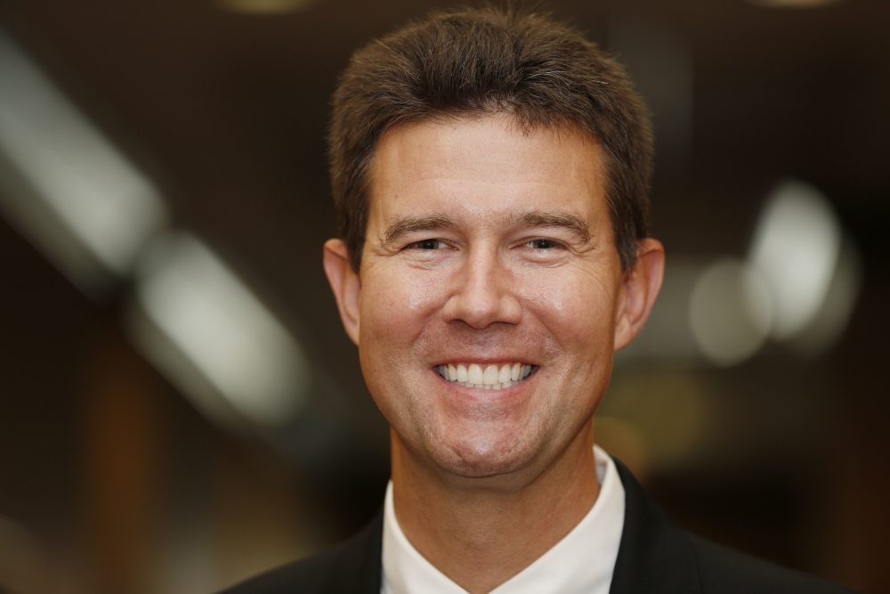 In this Wednesday, Sept. 17, 2014 file photo, Alabama Republican state Rep. John Merrill poses for portrait in Montgomery, Ala.  Local election officials are rejecting claims by Secretary of State John Merrill that hundreds of people voted illegally in the Alabama U.S. Senate race.  (Brynn Anderson,File/AP)