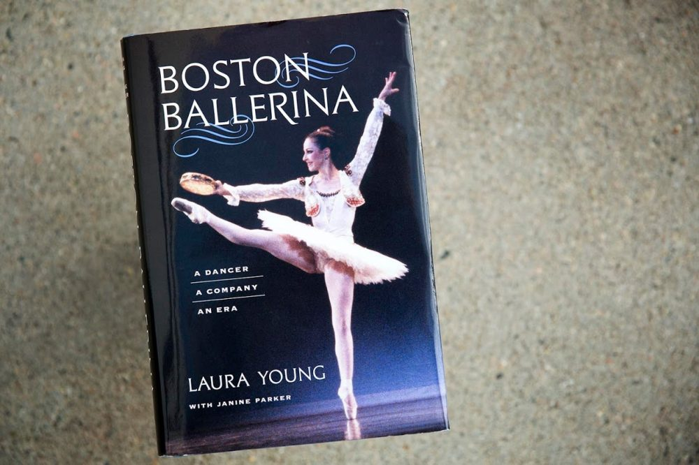 """Boston Ballerina,"" by Laura Young. (Robin Lubbock/WBUR)"
