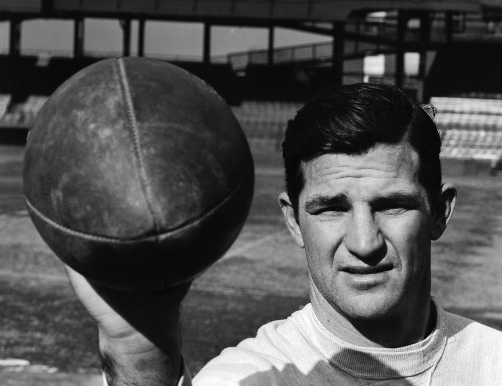 Sammy Baugh became one of the first great quarterbacks. But he wanted to be remembered for something else. (AP)