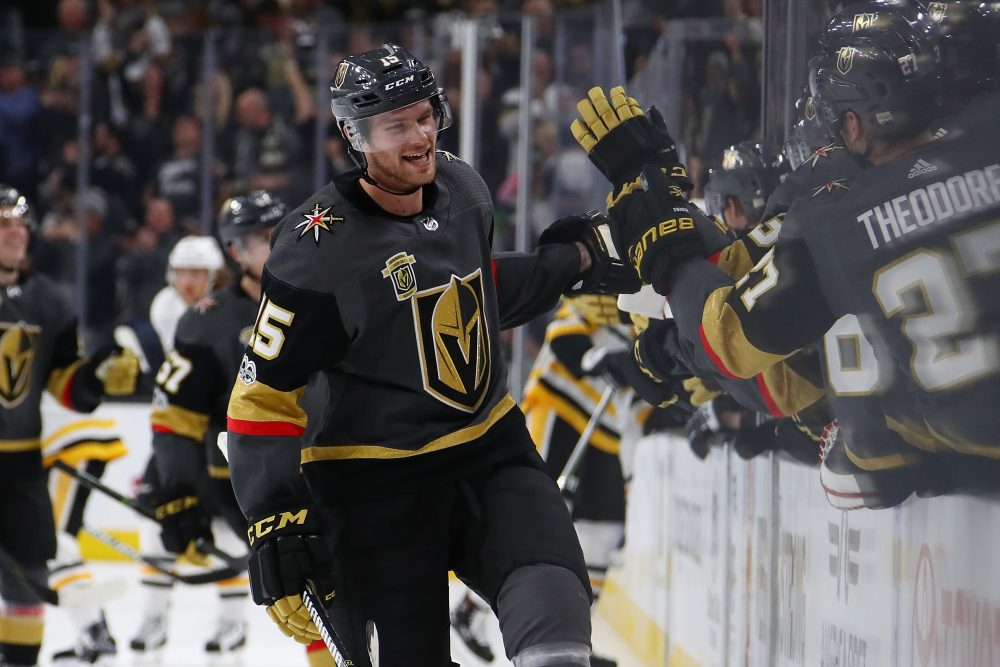 The Golden Knights have started 20-9-2 this season, and are a source of civic pride for Las Vegas. (Gregory Shamus/Getty Images)