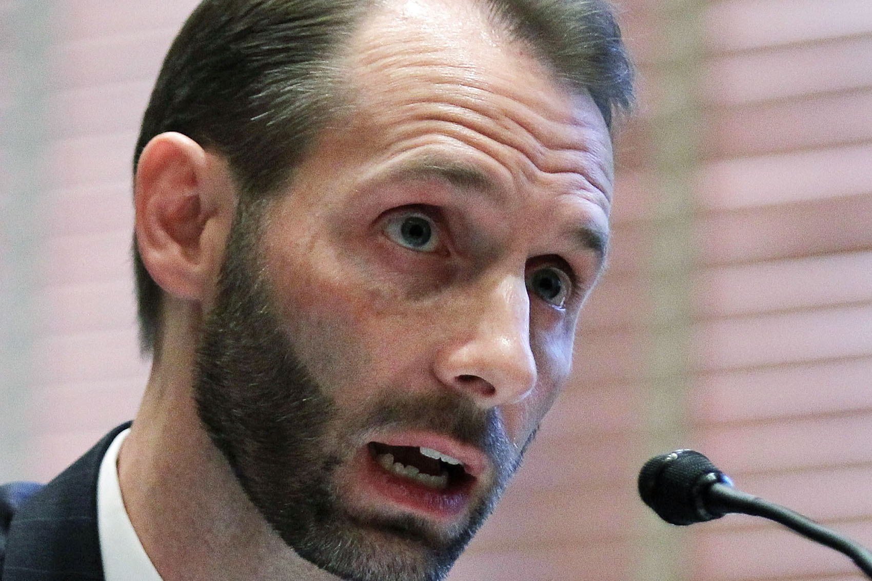 Matthew Spencer Petersen, pictured here in 2011, struggled to answer basic legal questions posed by Republican Sen. John Kennedy at a confirmation hearing Wednesday. Petersen is one of President Trump's nominees to be a district judge for the District of Columbia. (Alex Wong/Getty Images)
