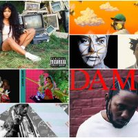 """Some of the best hip-hop albums of the year include SZA's """"CTRL"""" and Kendrick Lamar's """"DAMN."""" (Courtesy)"""