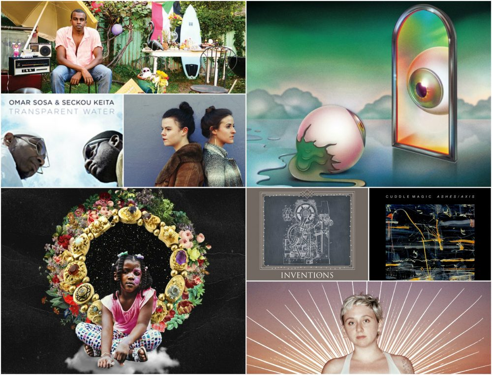 "Some of music critic Amelia Mason's favorite albums included Rapsody's ""Laila's Wisdom"" and Waxahatchee's ""Out in the Storm."" (Courtesy)"