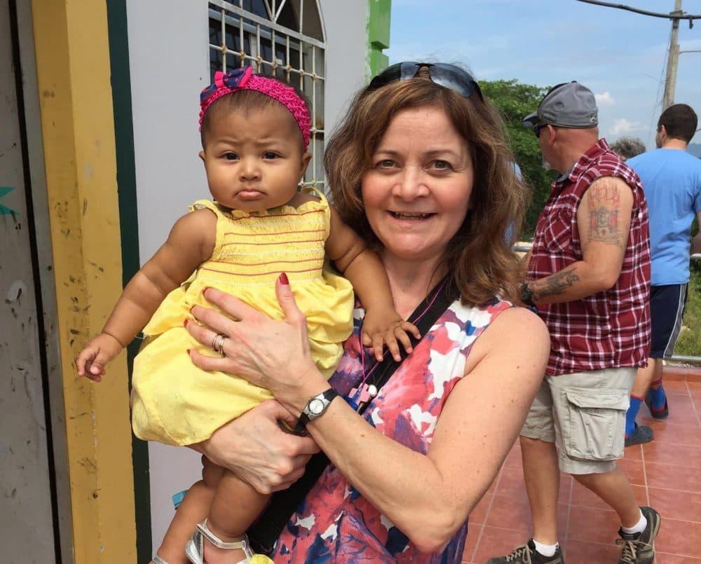 Gisella Oppedisano on her mission in Honduras. (Courtesy of Alwyn Velasquez)