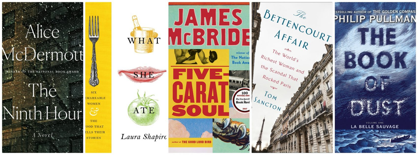 Five recommended titles from NPR Books editor Petra Mayer, to consider adding to your shopping list this holiday season. (Courtesy of the publishers)