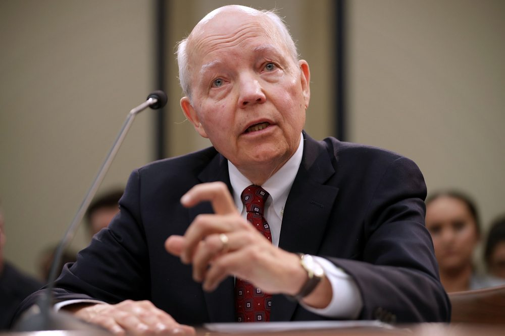 Internal Revenue Service Commissioner John Koskinen testifies before the House Judiciary Committee on Capitol Hill on Sept. 21, 2016 in Washington, D.C. (Chip Somodevilla/Getty Images)