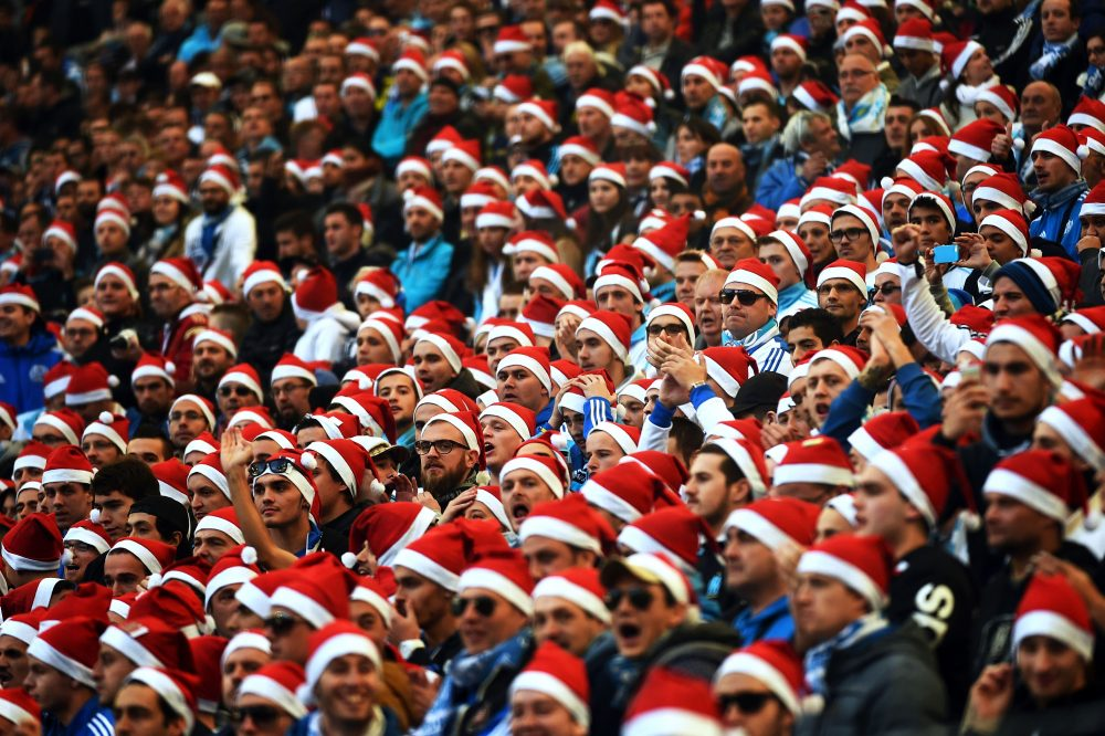 As 2017 comes to an end, Bill Littlefield wishes sports fans (and non sports fans) well. (Anne-Christine Poujoulat/AFP/Getty Images)