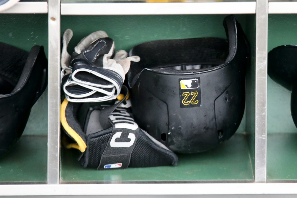 Stories about sports equipment...or, at least, equipment used by athletes. (Keith Srakocic/AP)