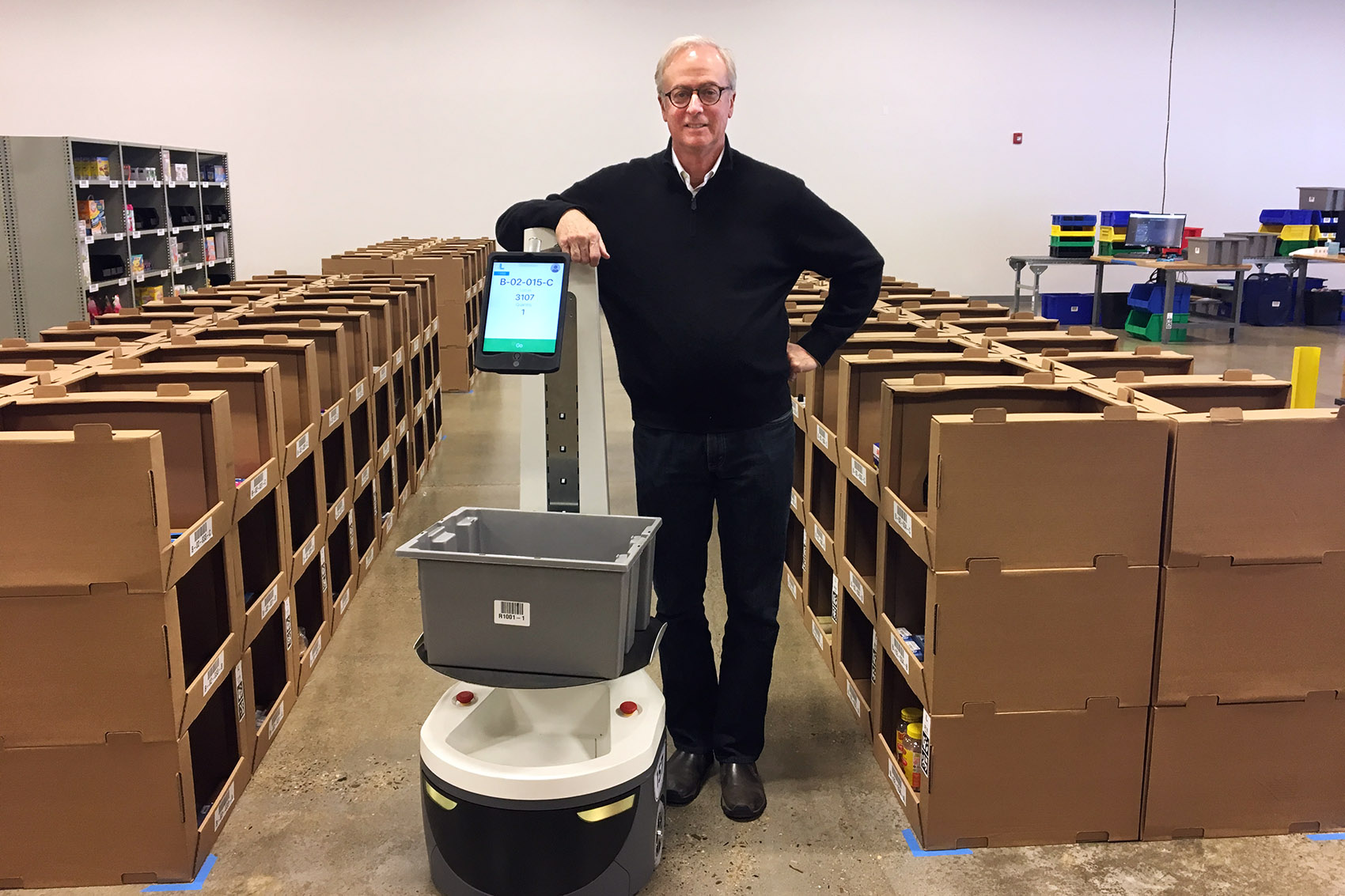 Boston-Area Companies Push For Robot Workers In Warehouses