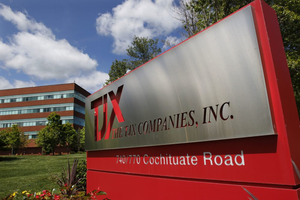 Framingham's TJX, for example, declined to offer a response to the Republican tax proposals. (Bill Sikes/AP)
