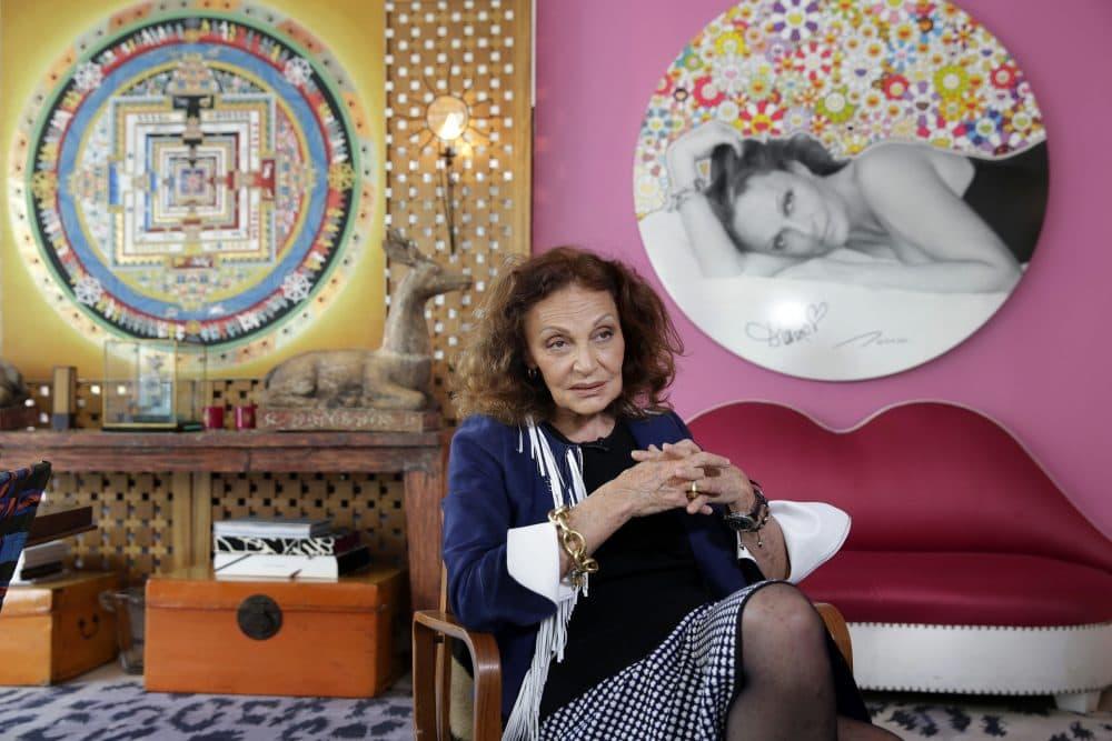 Designer Diane Von Furstenberg (Richard Drew/AP)