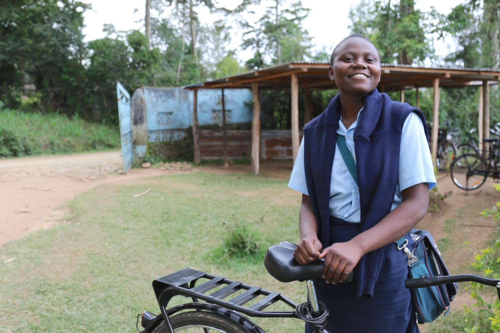 Angela Khaluyila. (Courtesy World Bicycle Relief)