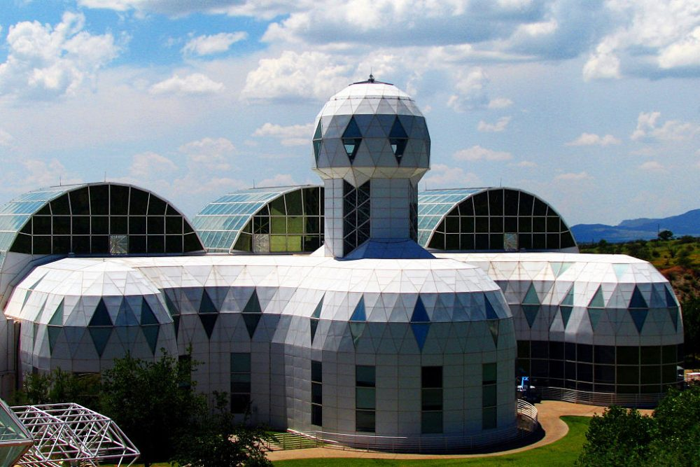 Biosphere 2. (CGP Grey via Wikimedia Commons)