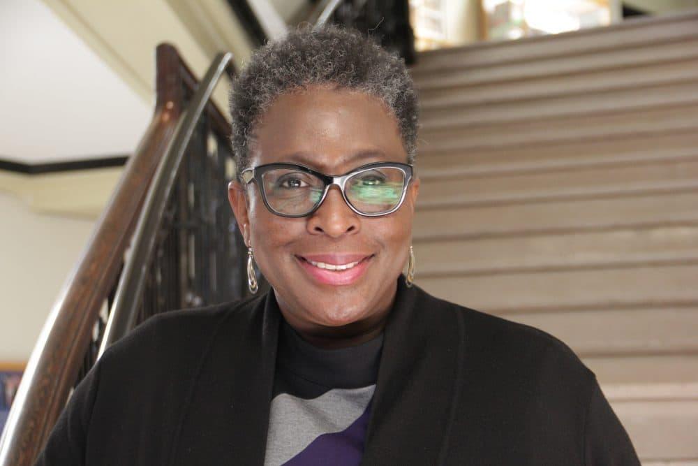 Framingham's first mayor-elect, Yvonne Spicer (Meghna Chakrabarti/WBUR)