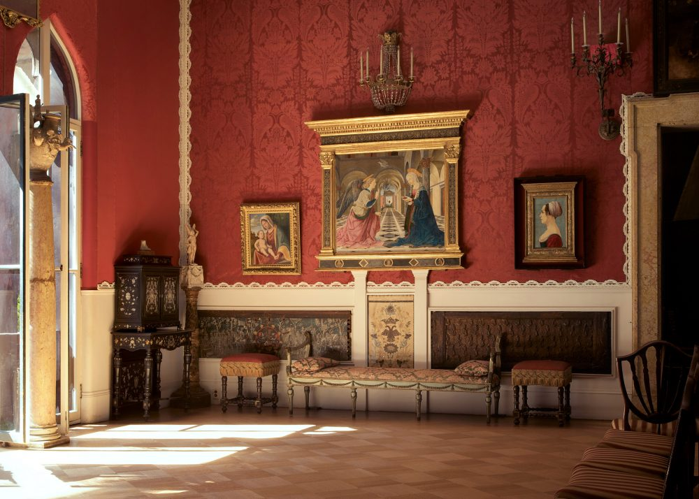 The Raphael Room as seen before the restoration process. (Courtesy Isabella Stewart Gardner Museum)