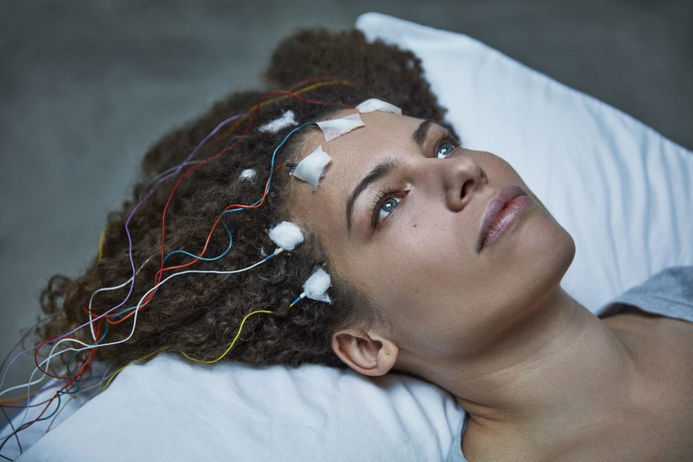 """Disbelieved by doctors, Jennifer Brea turns the camera on herself to reveal the hidden world of chronic fatigue syndrome in her film, """"Unrest."""" (Courtesy Jason Frank Rothenberg)"""