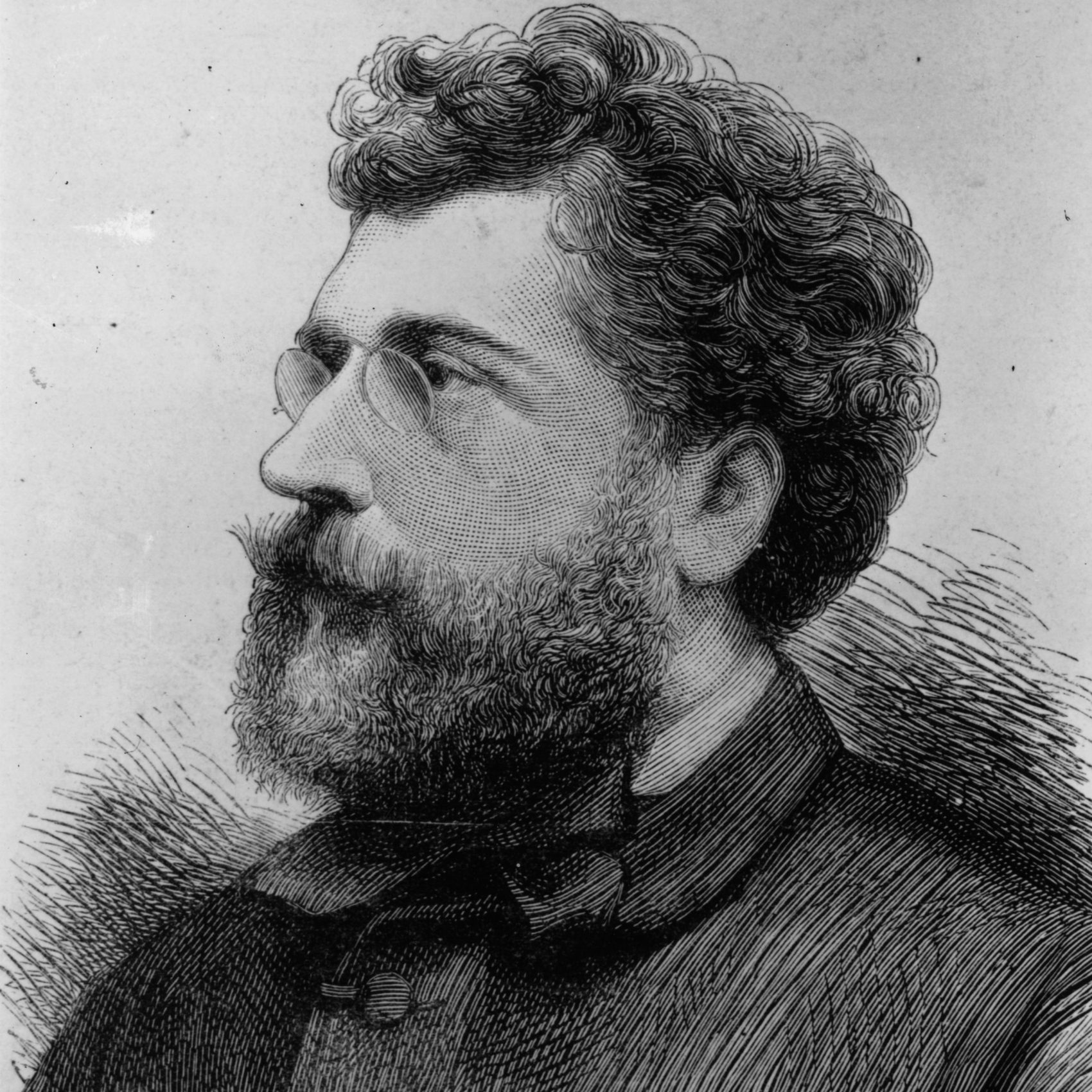 French composer Georges Bizet, circa 1865. (Hulton Archive/Getty Images)