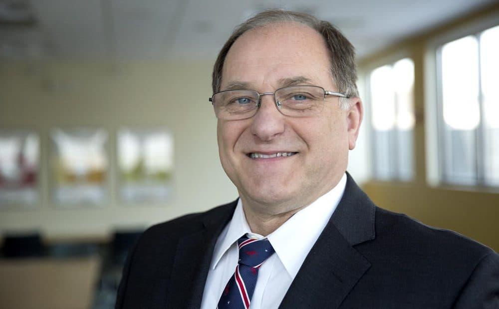 Representative Michael Capuano at WBUR. (Robin Lubbock/WBUR)