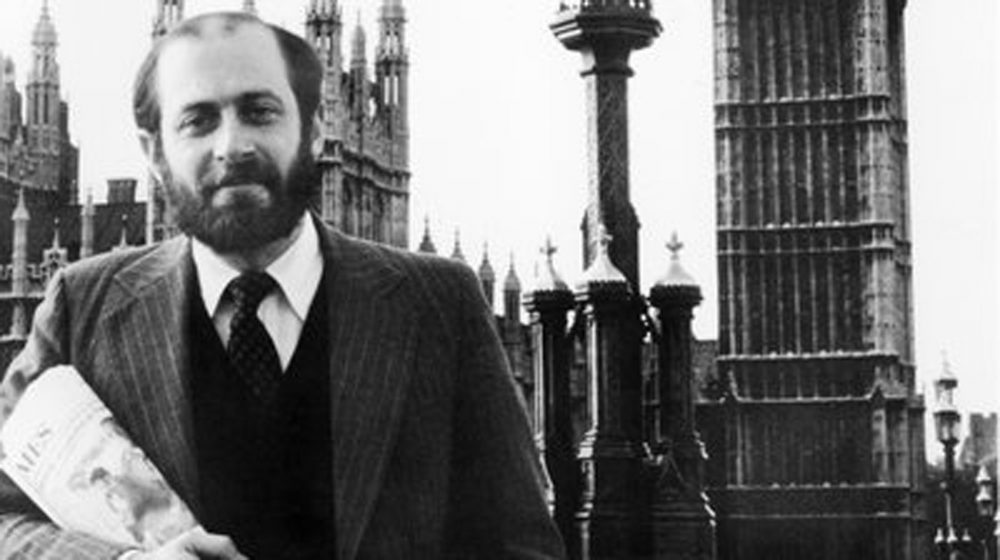 Robert Siegel opened NPR's first overseas bureau in London. He was posted there from 1979 to 1983. (NPR)