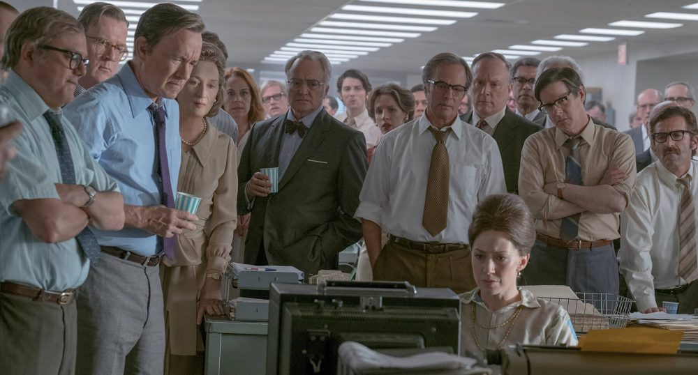 "The cast of ""The Post."" (Courtesy 20th Century Fox)"