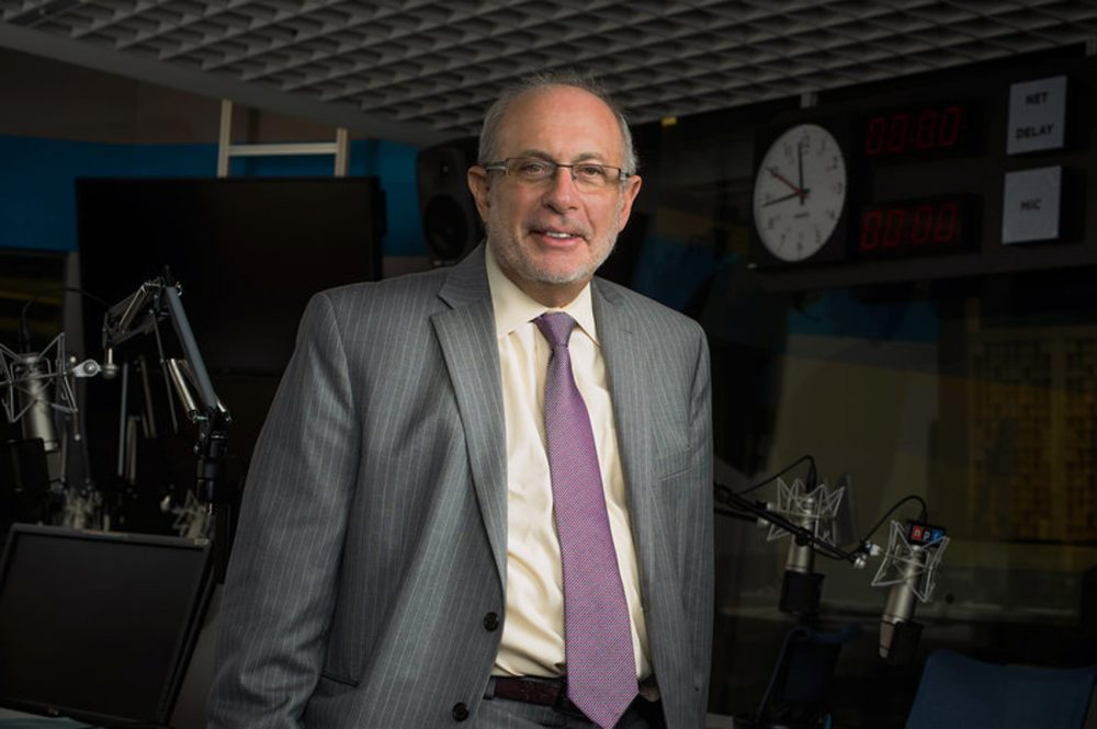 Robert Siegel hosted NPR's All Things Considered for 30 years. He retires after working at NPR for over 40 years. (Stephen Voss/NPR)
